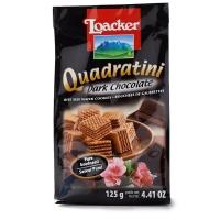 奥地利莱家黑巧克力味粒粒装威化饼干125g