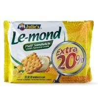 马来西亚茱蒂丝Julie's雷蒙德柠檬夹心饼170g