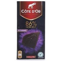比利时克特多金象真味86%纯可可巧克力100g