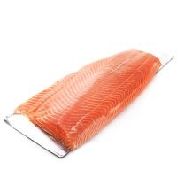 春播冰鲜水产大西洋三文鱼鱼柳2000g