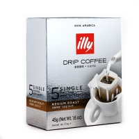 意大利知名品牌 illy滤挂咖啡中度烘焙 5*9g