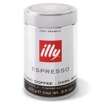 意大利知名品牌 illy深度烘焙浓缩咖啡粉 250g