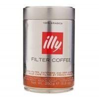 意大利知名品牌 illy过滤式浓缩咖啡粉 250g