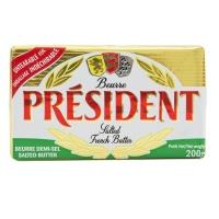 法国总统牌咸味黄油块200g