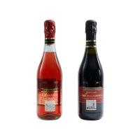 意大利索巴拉起泡葡萄酒750ml*2混合装