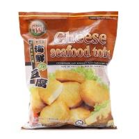 原装进口马来西亚Figo牌奶酪海鲜豆腐500g
