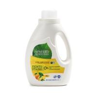 美国第七世代2倍浓缩天然洗衣液清新柑橘 1.47L