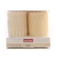 德国法克曼24件装蛋糕纸模(黄)