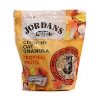 英国JORDANS巧丹思蜂蜜热带水果香脆燕麦片750g
