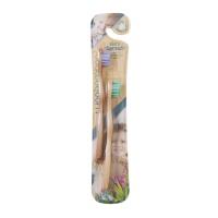 美国WOOBAMBOO 爱握竹环保竹制儿童牙刷 - 双支装超软毛刷头(7岁以下)