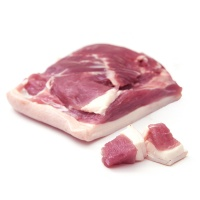 悠然谷农场藏香黑猪后尖肉400g