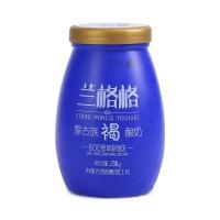 雪原兰格格蒙古族褐酸奶238g