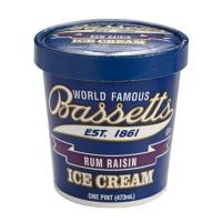 美国贝赛斯朗姆葡萄干冰淇淋473ml