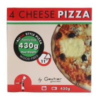 法国高笛4种奶酪披萨430g