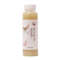 汲自然100%鲜榨水蜜桃汁300ml