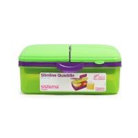 新西兰Lunch 纤巧分层餐盒 1500ml