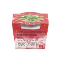 乐纯草莓蔓越莓元气酸奶135g