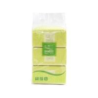 丝雨竹竹纤维本色抽纸130抽三联包