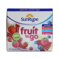 桑莱普多口味水果条组合装336g