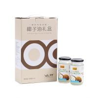 椰洛特级初榨椰子油礼盒310ml*2