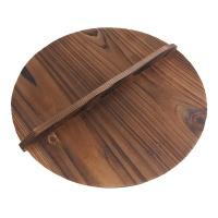 铸味炒锅木盖30cm