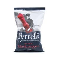 英国泰瑞黑胡椒咸味薯片150g