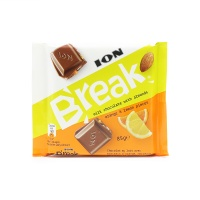 春播希腊直采扁桃仁橙子柠檬碎牛奶巧克力85g