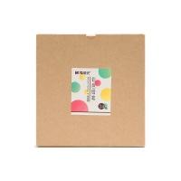 晨光 牛皮纸盒原木圆型彩色铅笔24色AWPQ1502