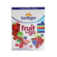 桑莱普多口味水果条组合装1008g
