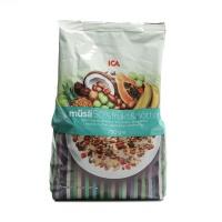 瑞典ICA50%水果坚果粗粮混合麦片750g