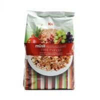 瑞典ICA苹果肉桂粗粮混合麦片500g