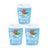 春播直采低糖低脂香草味冰淇淋(四人家庭分享装)500ml*3