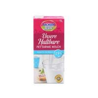 德国萨克森1.5%脂肪含量低脂高温杀菌奶1L