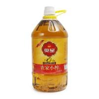 奥星双低农家小榨菜籽油5L