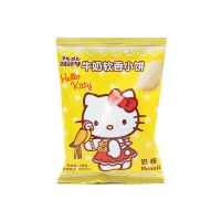波路梦hello kitty牛奶软香小饼28g