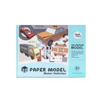 美乐儿童3D纸模馆-汽车