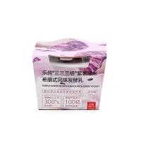 乐纯紫薯黑米希腊式风味发酵乳135g
