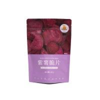 自然果实紫薯脆片80g