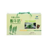 青藏祁莲牦牛巴氏藜麦风味酸牛奶200g*12钻石装礼盒
