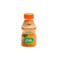 韩国宾格瑞乳酸菌饮料橘子味280ml