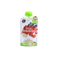 Little Freddie小皮 谷物蓝莓草莓香蕉泥100g